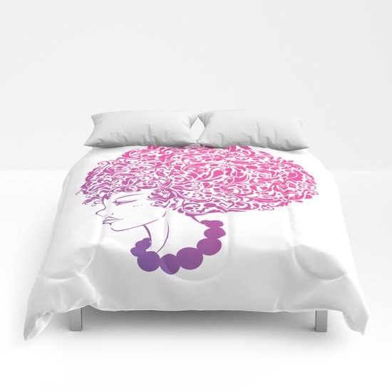 Ms. Floral Comforters