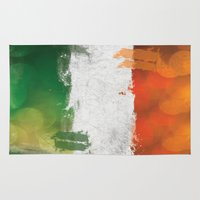 ruben ireland Area & Throw Rugs featuring Ireland by Fresh & Poppy
