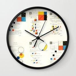 Euclidean joy Wall Clock
