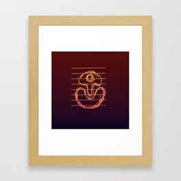 Suggestive Doodle, (Jazzed Up Version). Framed Art Print