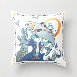 July 2014 Throw Pillow