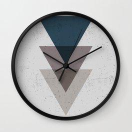 Geometric Trinangle Tangle Wall Clock