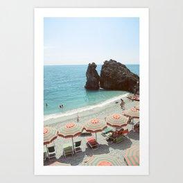 Italian summer  Art Print