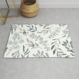 Australian Eucalyptus Home Decor Greenery by Erin Kendal Rug