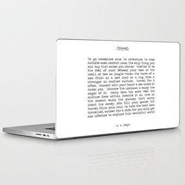Travel Far and Often Laptop & iPad Skin