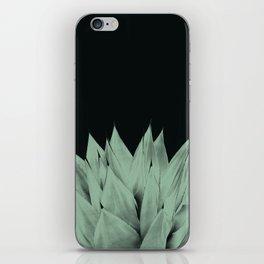 Agave Dark Night Vibes #1 #tropical #decor #art #society6 iPhone Skin