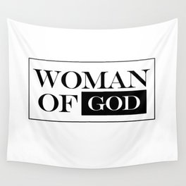 Woman of God Wall Tapestry