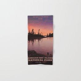 Georgian Bay Islands National Park Hand & Bath Towel