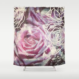Roses are Pink Shower Curtain