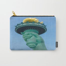 Torch in the right hand of Lady Liberty - New York City Carry-All Pouch