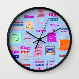 Color Square 10 Wall Clock