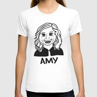 amy poehler T-shirts featuring Amy Poehler by Flash Goat Industries