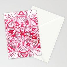 Mandala - Pink Watercolor Stationery Cards