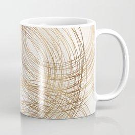 Metallic Circle Pattern Coffee Mug