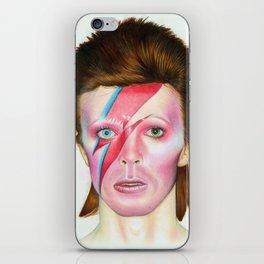 Ziggy Stardust iPhone Skin