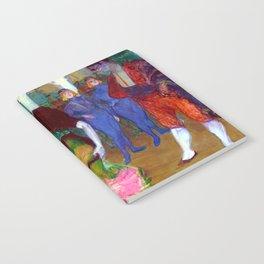 Toulouse Lautrec Marcelle Lender Dancing the Bolero Notebook
