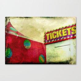 Tickets Canvas Print