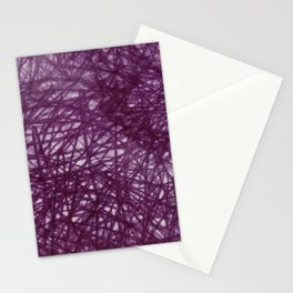 Ophelia Black Stationery Cards