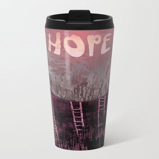 Hope, Climbing / Wonderful Planet 13-11-16 Metal Travel Mug