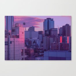 Tokyo Never Sleeps Canvas Print