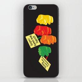 Stop Gummibear Cruelty! iPhone Skin