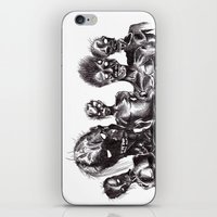 zombies iPhone & iPod Skins featuring Zombies by Niky Boo