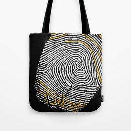 Gold Finger Tote Bag