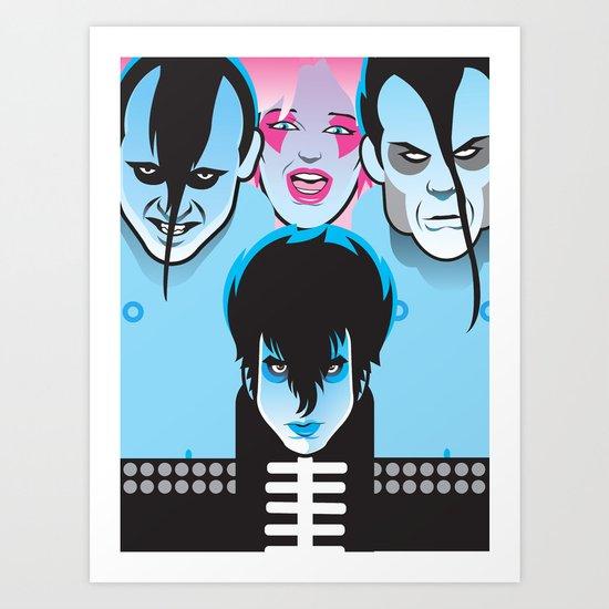 Jem & the Misfits Art Print