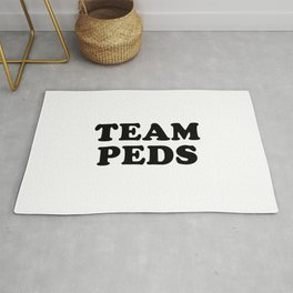 Team Peds Rug