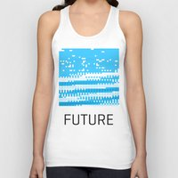 odd future Tank Tops featuring Future by Blank & Vøid