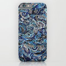 Blue iPhone 6s Slim Case