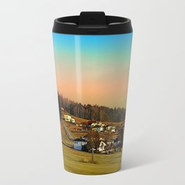 Clouds over the mountains II | landscape photography Travel Mug