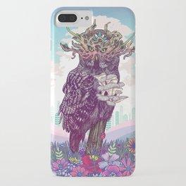 Journeying Spirit (Owl) iPhone Case