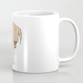 Grumpy Pug Coffee Mug
