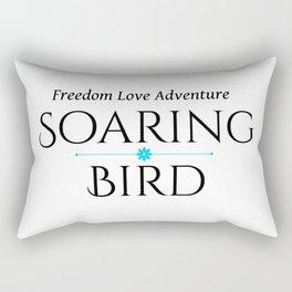 Soaring Bird Rectangular Pillow