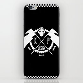 KP Design : Art - Love - Moto Crest Logo iPhone Skin