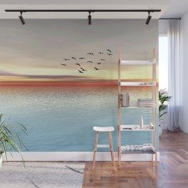 Atlantic Sunset Wall Mural