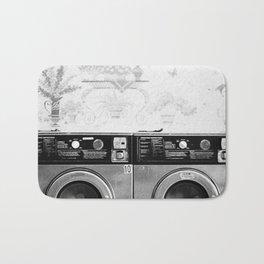 Vintage Laundromat Bath Mat