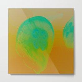 Atomic Bubble Metal Print