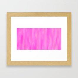 Light Pink Hues Framed Art Print