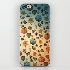 workshop autumn iPhone & iPod Skin