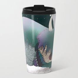 The missing monster Travel Mug