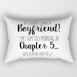 Book boyfriend Rectangular Pillow