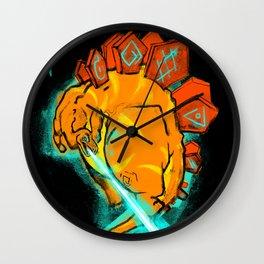 Stegosaurceror! Wall Clock