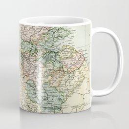 South Scotland Vintage Map Coffee Mug