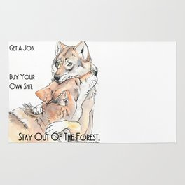 MFM: Stay Out of the Forest Rug