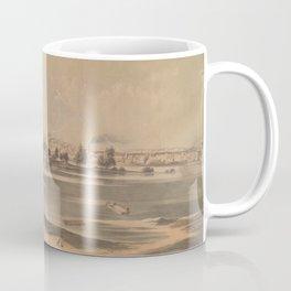 Vintage Pictorial View of Richmond VA (1853) Coffee Mug