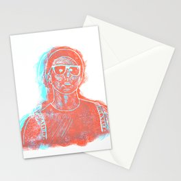 3D Josh (Ride) Stationery Cards