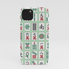 Singapore Game - Mahjong (麻将) iPhone Case