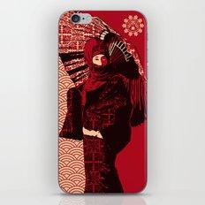 ASIAN WOMAN iPhone & iPod Skin